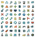 Set Of Icons Stock Photography - 20597762