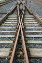 Railroad Tracks Stock Image - 2060431