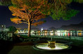 Lakeside City At Nigh Stock Photography - 2069302