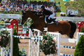 Horse Rider At The Bromont Jumping Competition Royalty Free Stock Photo - 20602635