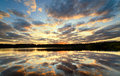 Beautiful Decline On Lake Stock Images - 20607264