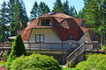 Geodesic Dome House Royalty Free Stock Photography - 20628217
