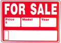 """Sign """"For Sale"""" With Extra Fields Royalty Free Stock Images - 20630059"""