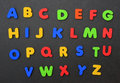 Colorful Alphabet A Thru Z Royalty Free Stock Photo - 20656715