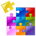 Puzzle Pieces Stock Photography - 20670282