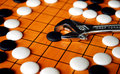 The Game Of Go Royalty Free Stock Photo - 2074305