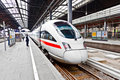 High Speed Train In Station Royalty Free Stock Image - 20709946