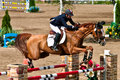 Horse Rider At The Bromont Jumping Competition Stock Images - 20752074