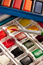 Arts & Crafts - Watercolor Painting Set Stock Photography - 20763272