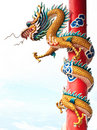 Chinese Style Dragon Statue Stock Photo - 20766050