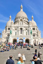 Sacre Coeur In Paris, France Royalty Free Stock Image - 20766956