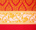 Thai Art Wall Pattern Royalty Free Stock Images - 20775719