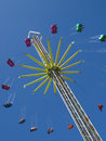 Carnival Swing Ride Royalty Free Stock Photo - 20787745
