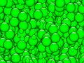 Green Bubbles Texture Royalty Free Stock Photos - 20798868