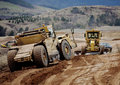 Earth Moving Equipment At Work Stock Photos - 20824283