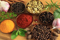 Spices Ang Herbs Royalty Free Stock Image - 20826706
