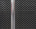 Chrome Front Grill Pattern Royalty Free Stock Image - 20835626