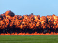 Wall Of Fire Stock Images - 20837514