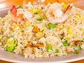 Fried Rice With Shrimp Royalty Free Stock Images - 20838149