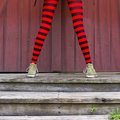 Red Tights Stock Photos - 20849393