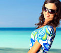 Lovely Brunette Woman Royalty Free Stock Image - 20861016