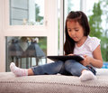 Child Using Digital Tablet Stock Photography - 20875852