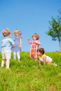 Kids Playing Royalty Free Stock Photo - 20885265