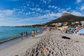 Camps Bay Beach And Lions Head Mountain Royalty Free Stock Photo - 20892705