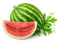 Isolated Watermelon Stock Photography - 20899862
