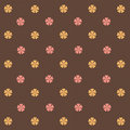 Flowers Retro Abstract Background Stock Photography - 20921722