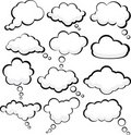 Speech Clouds. Royalty Free Stock Image - 20933816