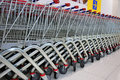 Shopping Trolleys Stock Images - 20937754