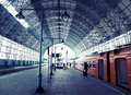 Covered Railway Station Stock Images - 20939324