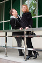 Young Couple Flirting Royalty Free Stock Images - 20945339