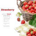 Strawberries In Basket Stock Image - 20966231
