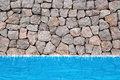 Stone Wall Pool ,water Stock Photography - 20974282
