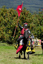 Medieval Knight On Horseback Stock Images - 20987514
