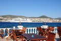 Perfect Dinner Spot On A Terrace In Kusadasi Royalty Free Stock Images - 20990979