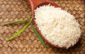 Raw Rice In Spoon Stock Photography - 20996562