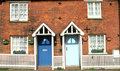 Terraced Cottages Stock Image - 2102331