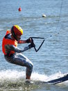 Water Skier, Lublin, Poland Stock Images - 21004734