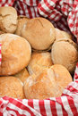 Basket With Bread Stock Images - 21012054