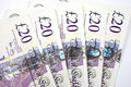£20 Notes Royalty Free Stock Image - 21022676