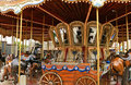 Carousel With Horses Stock Photo - 21055920