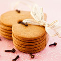 Gingerbread Cookies And Cloves Stock Images - 21067514