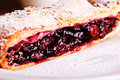 Cherry Strudel Royalty Free Stock Photography - 21068727
