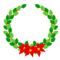 Christmas Wreath Laurel Royalty Free Stock Images - 21099509