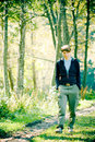 Walk In The Woods Royalty Free Stock Images - 2112569