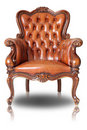 Brown Armchair Stock Images - 21114014