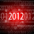 2012 New Year Card Stock Photography - 21116632
